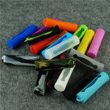 Silicone 18650 Single Battery Cover Case Sleeve Skin