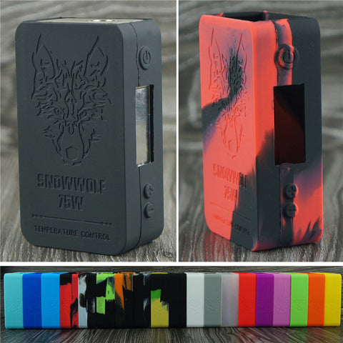 ModShield for SnowWolf Mini 75w Silicone Case Logo Skin Cover
