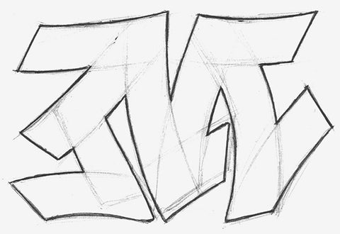 How to Draw Graffiti Letters – Simple Guide to Letter