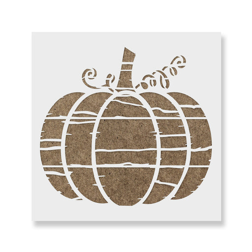 Distressed Pumpkin Stencil