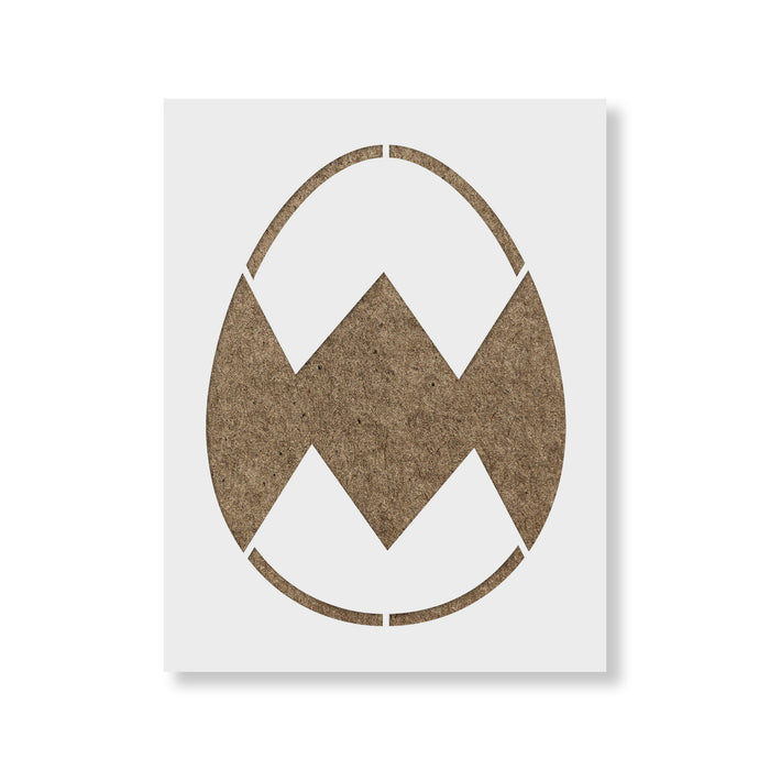 Easter Egg Diamond Stencil