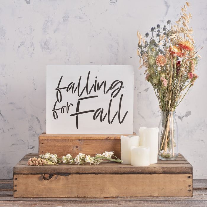 Falling For Fall Stencil
