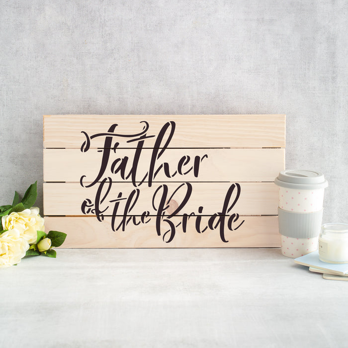 Father of The Bride Stencil