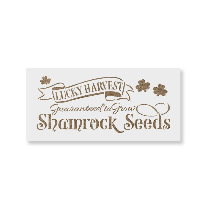 Lucky Harvest Decor Sign Stencil
