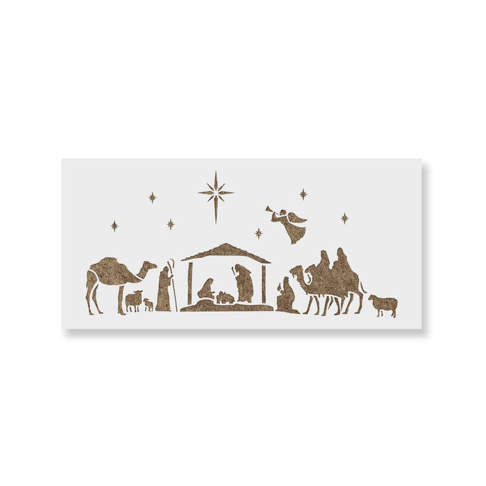 Nativity of Jesus Stencil