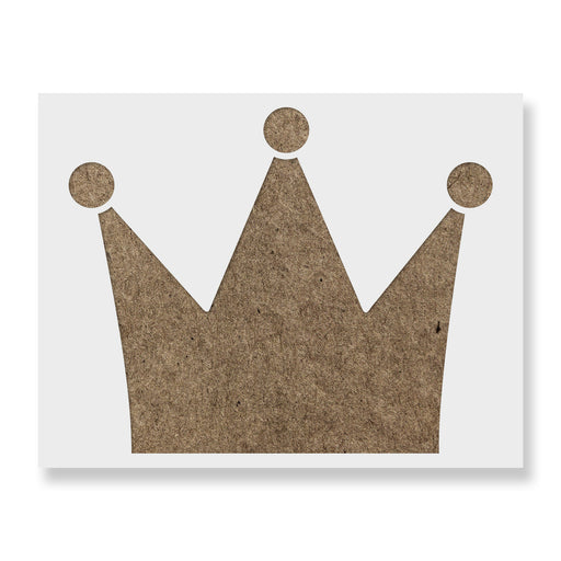 Princess Crown Stencil