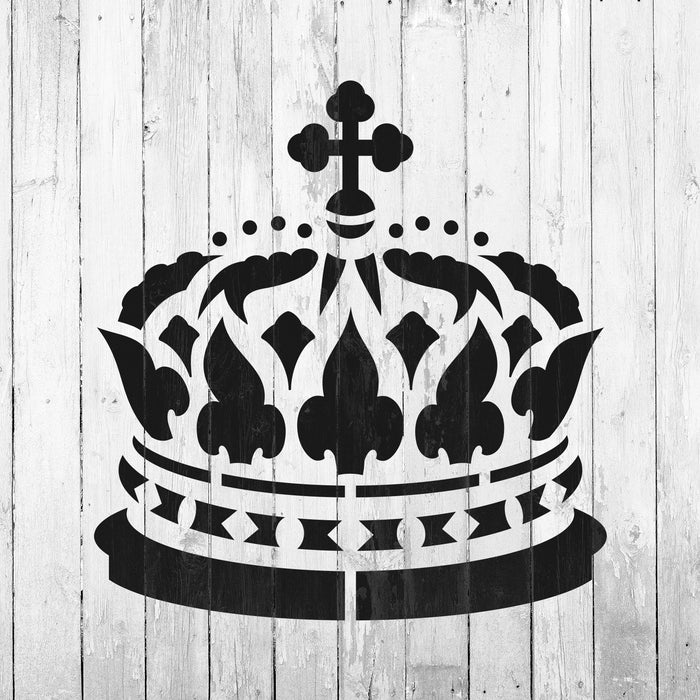 Queen Crown Stencil