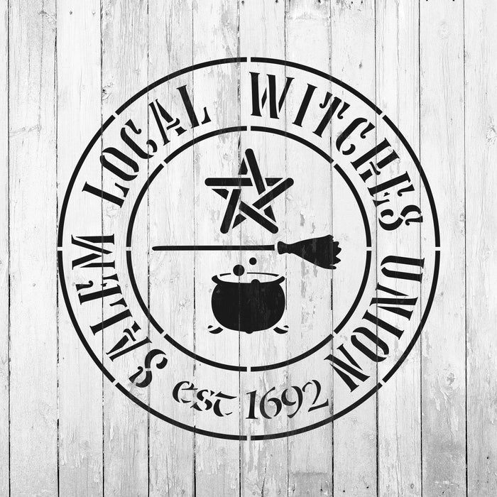 Salem Local Witches Union Stencil