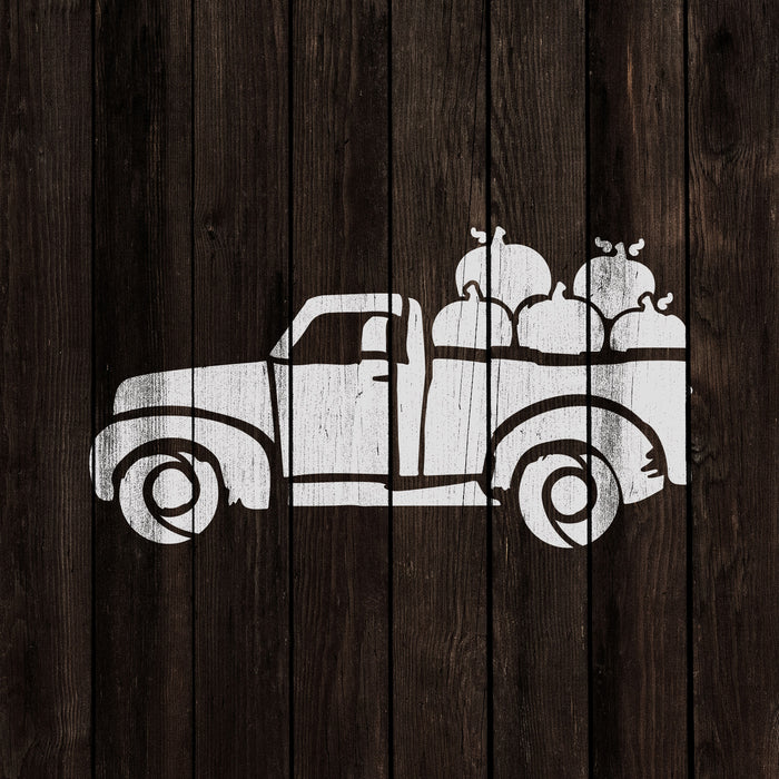 Thanksgiving Truck Stencil