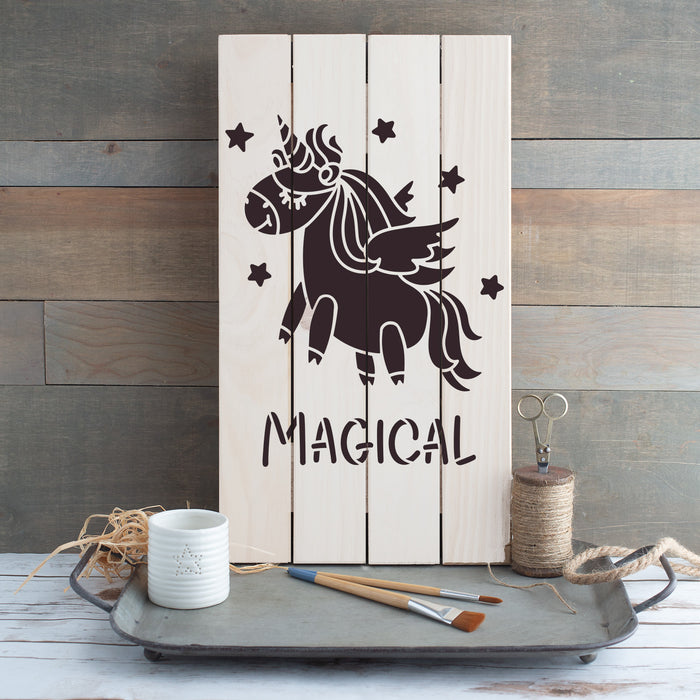 Unicorn Magical Stencil