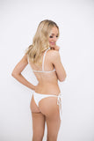 Taje Bunga Bottom in White