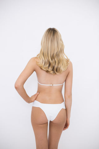 Taje Papilion Bottom in White