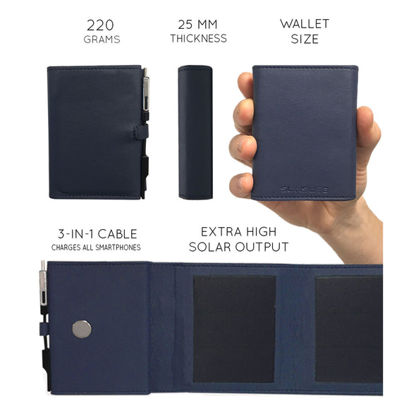 Photon: Pocket Solar Charger and Power Bank