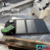 Power bank can be charged by solar charger