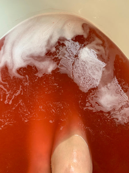 Crimson Regrets Bath Bomb