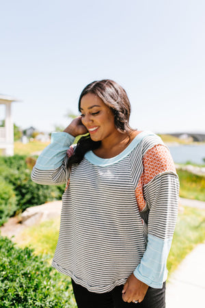 Trendsetter Striped Top
