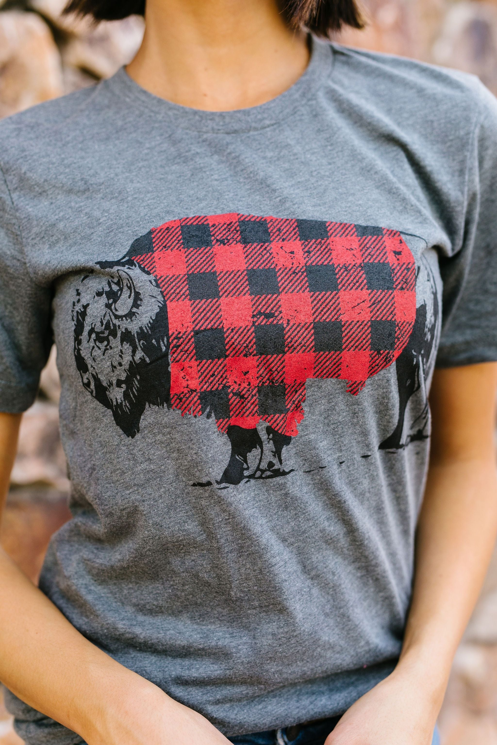 Buffalo Plaid Buffalo Tee
