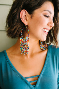 Confetti Beaded Earrings