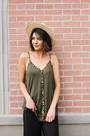 Just A Little Wild Camisole
