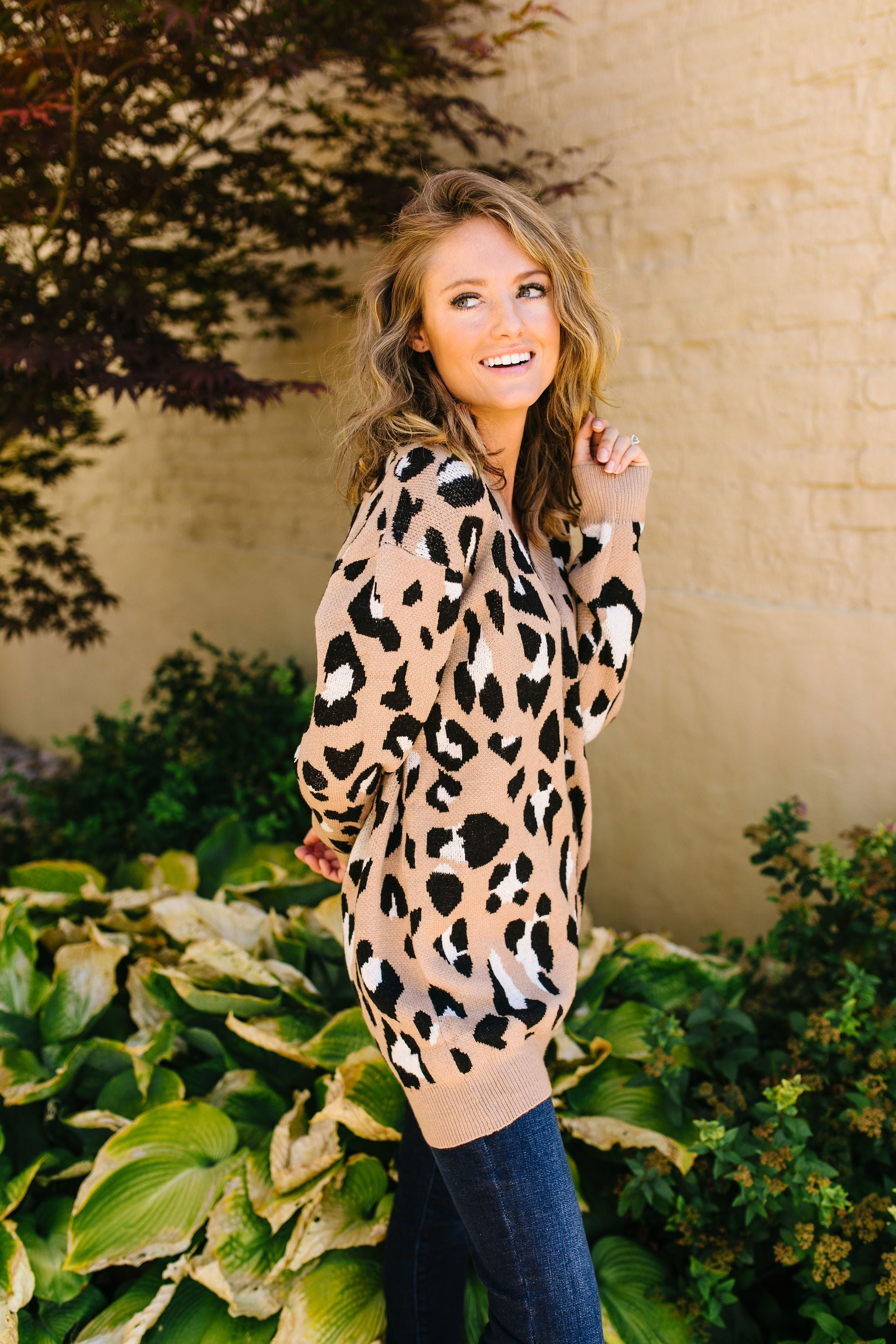 The Cat's Meow Leopard Sweater