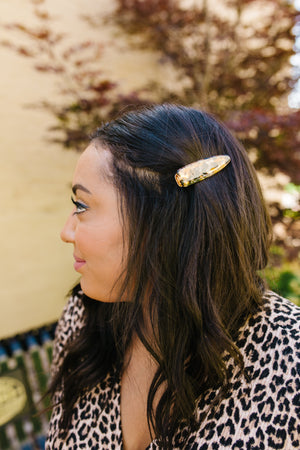 Tortoise Shell Hair Clips