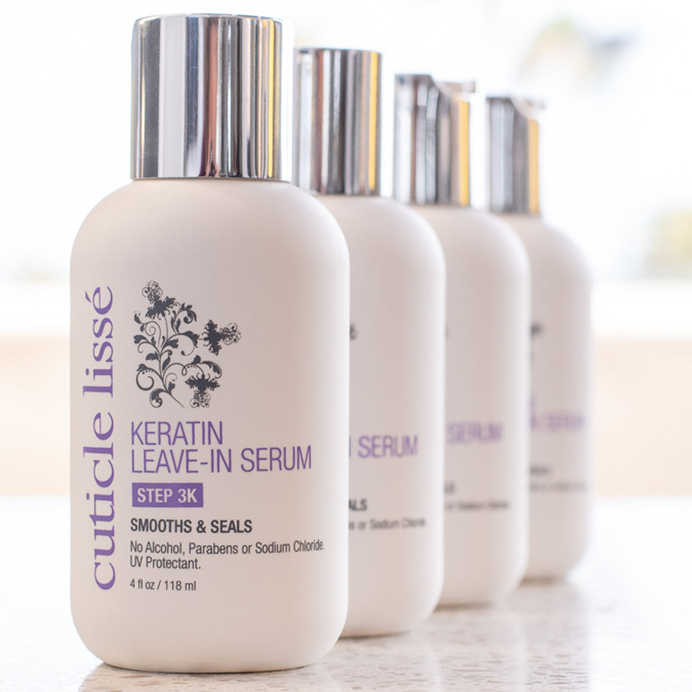 Keratin Leave-In Serum | Smooths & Seals | Step 3