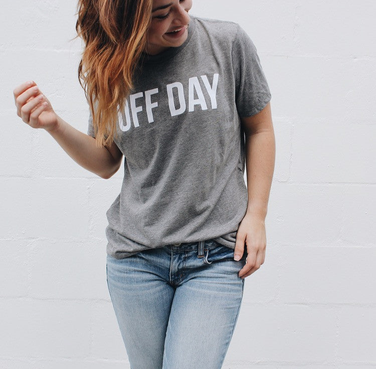 OFF DAY TEE GRAY