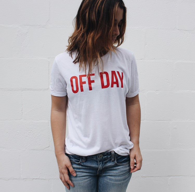 OFF DAY TEE WHITE