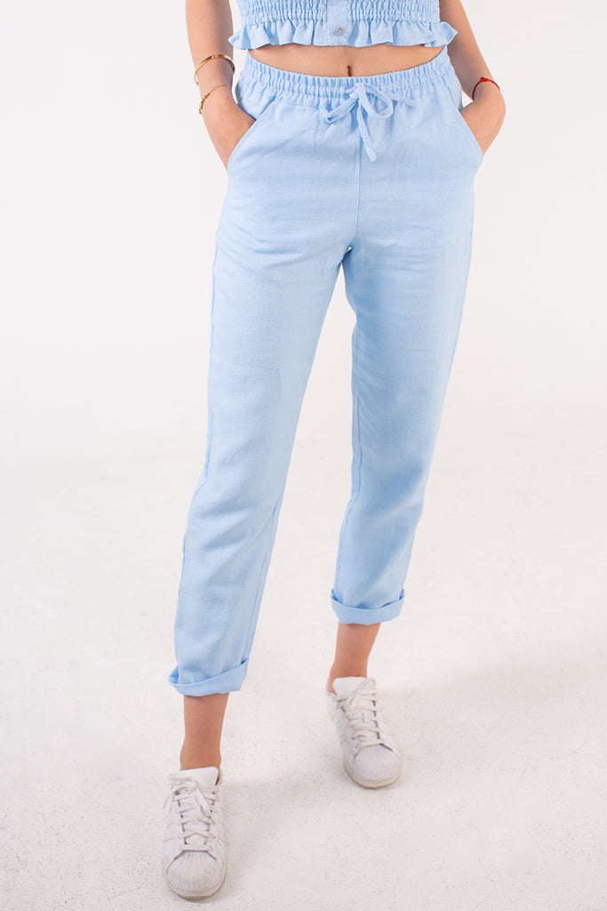 JESSIE PANTS in Blue