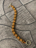 Falling Leaves Daisy Chain Bracelet