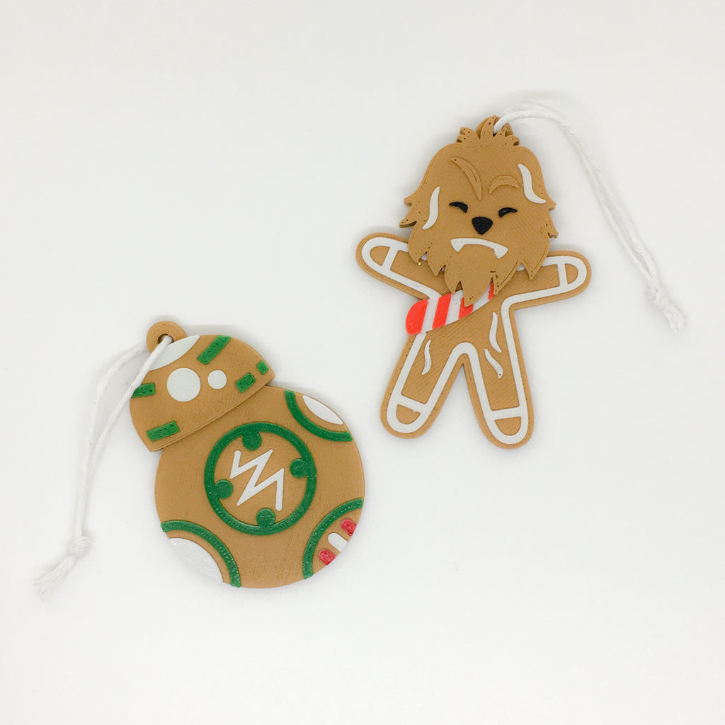 **SEASONAL** Rebel Gingerbread ornaments