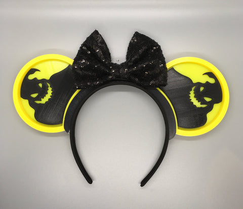 Interchangeable Nightmare Illuminated ears