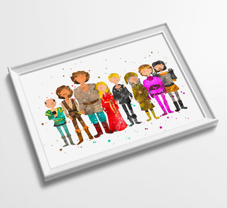 Princess Bride - Watercolor Art Print #2