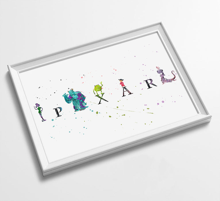 Minimalist Watercolor Art Print Poster Gift Idea For Him Or Her | Nursery Art | Gift for Baby |