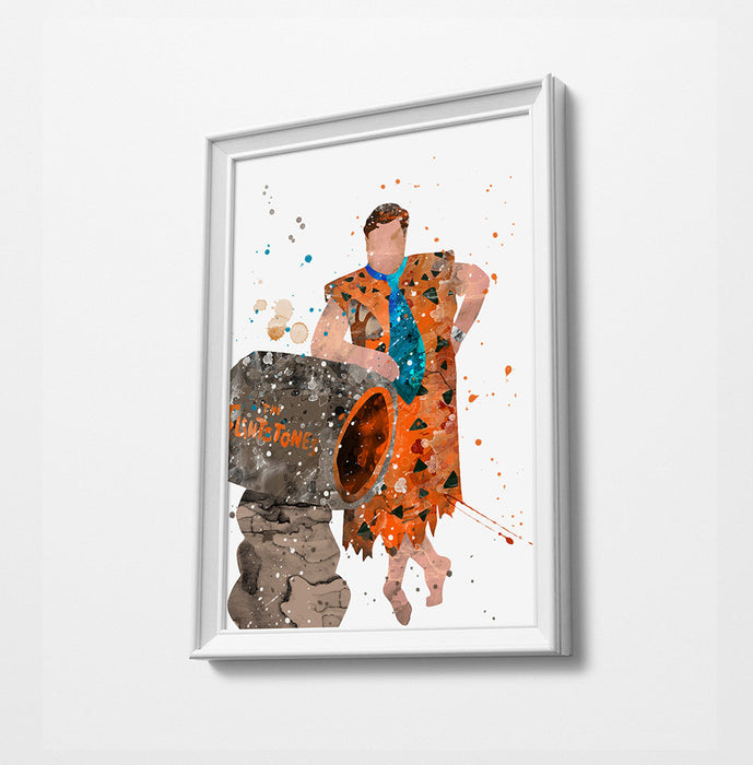 Fred | Movie Minimalist Watercolor Art Print Poster Gift Idea For Him Or Her | Movie Artwork