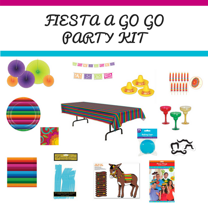 Fiesta A Go Go Party Kit