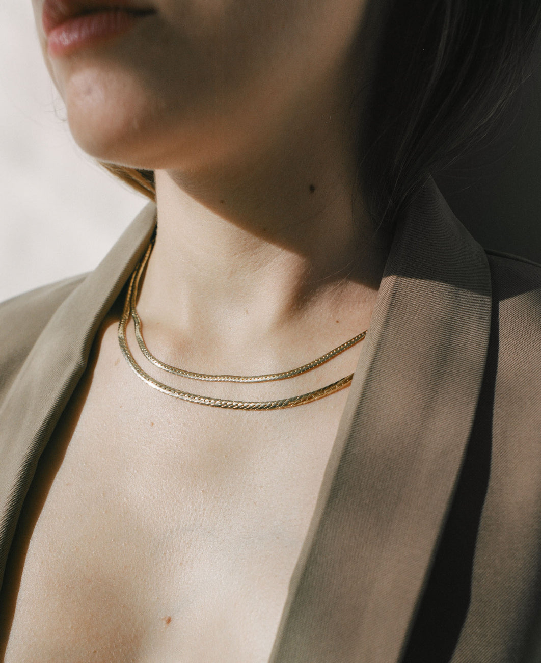 Kennedy Herringbone Chain II