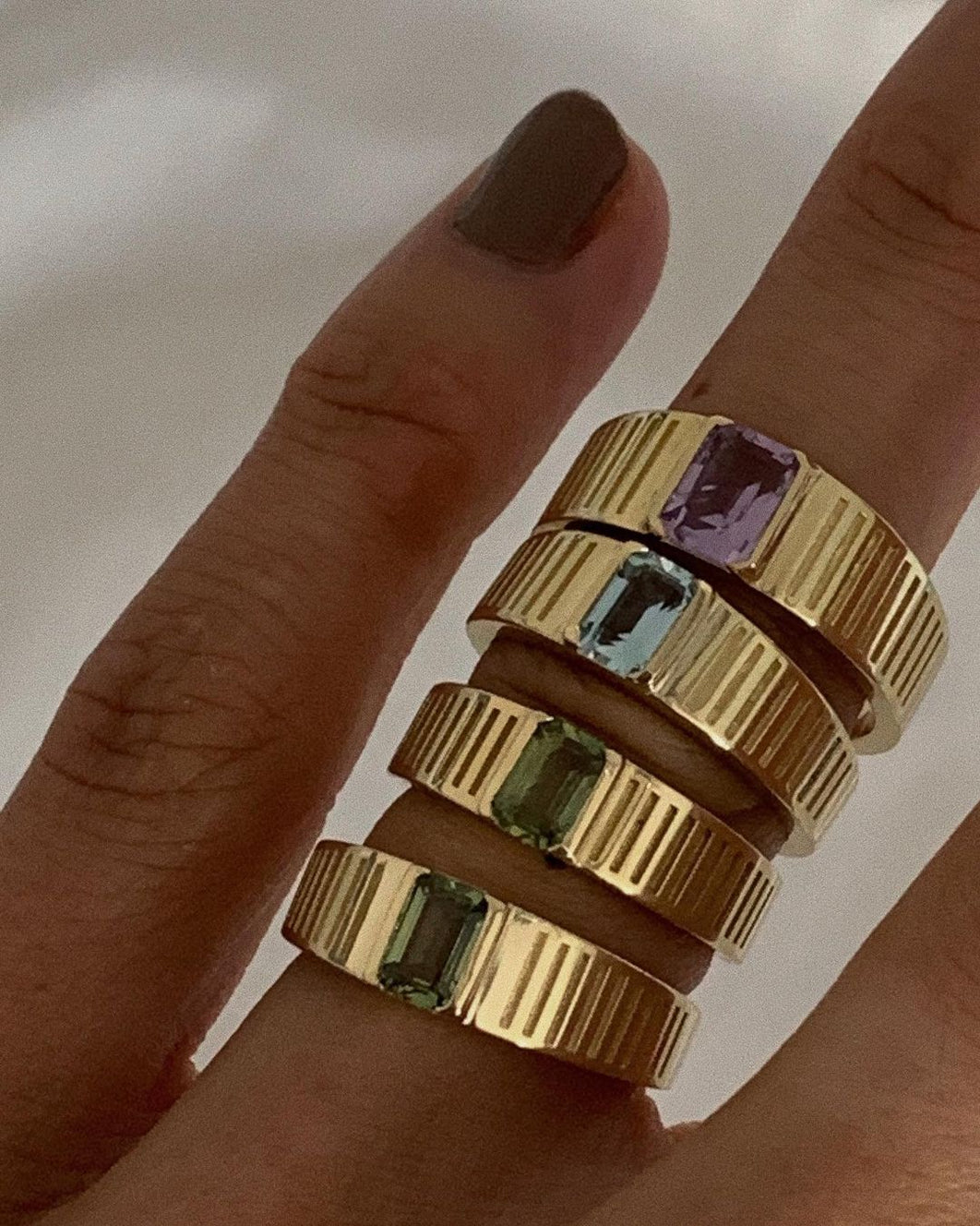 Solis Ribbed Ring I