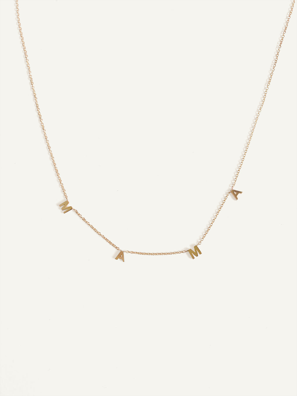 Dear Kaia Initial Necklace