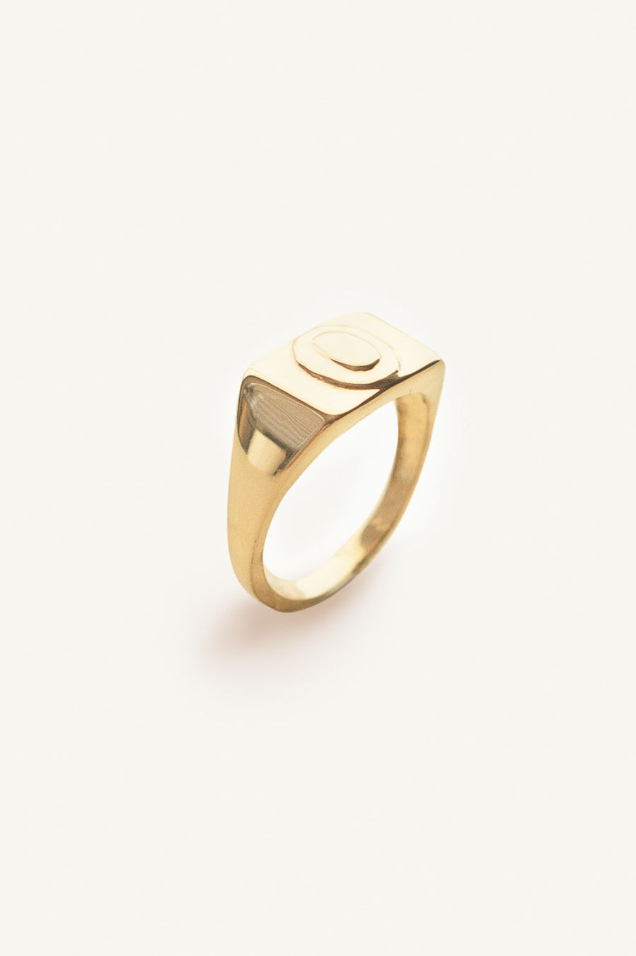 Andrea Rectangle Signet Ring