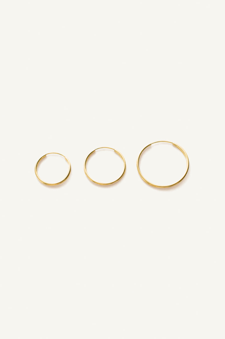 Lightweight Hoop Earrings
