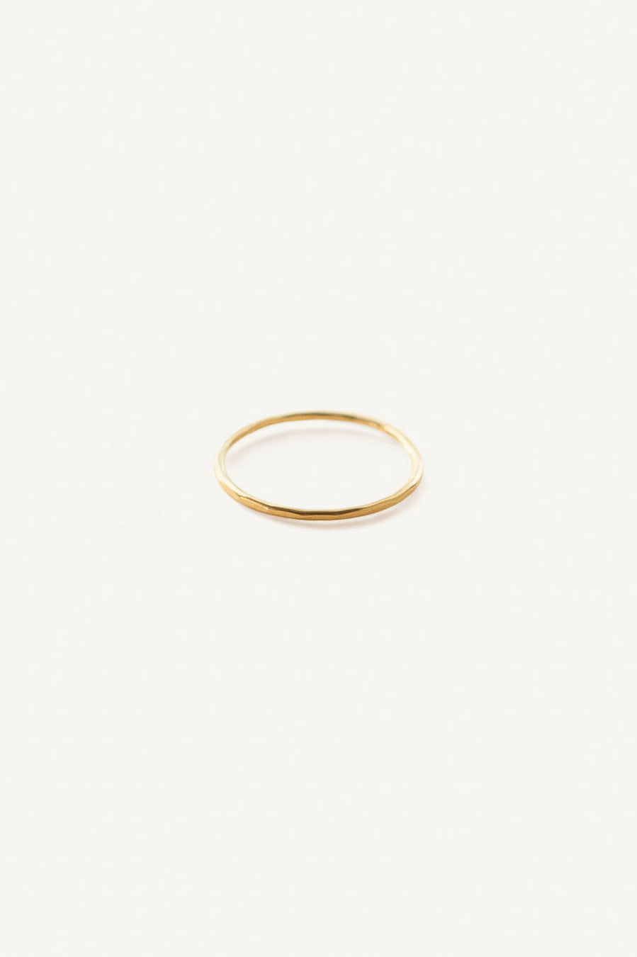 Classic Hammered Ring