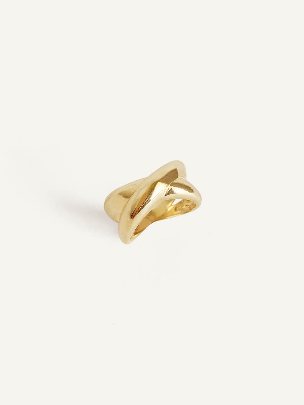 14k Duo Dome Ring