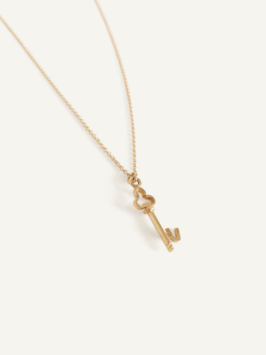 14k Key Pendant Necklace