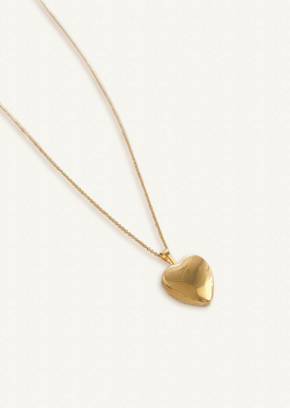 Maison Heart Locket Necklace