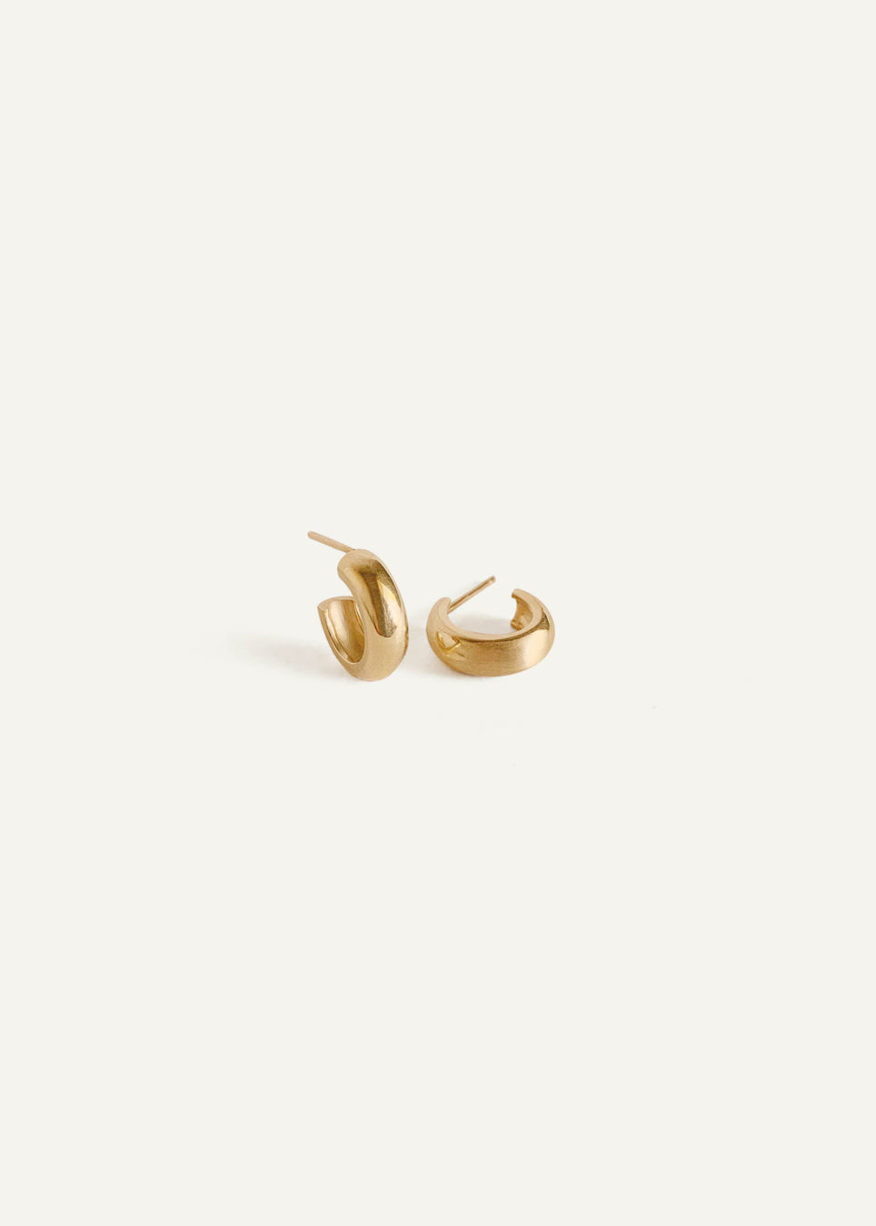 14k Round Hoop Earrings