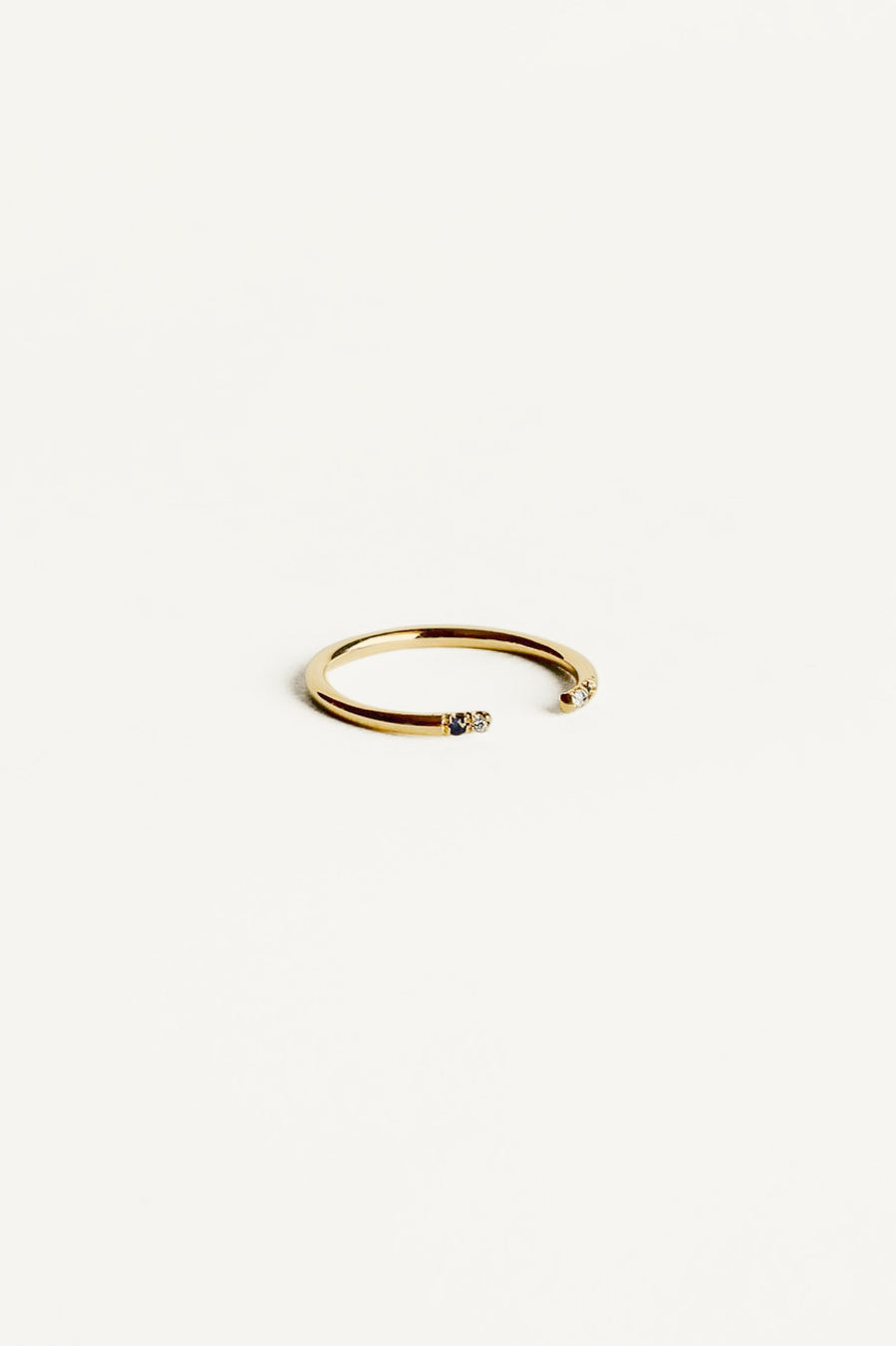 Double Dot Cuff Ring