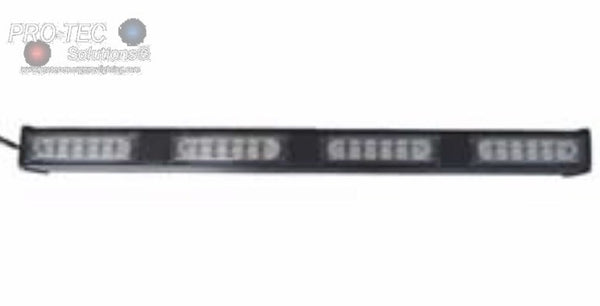 PRO-TEC Solutions® Rear Deck Directional Dual Color LED Lightbar w/ 4, 6, 8 Head Option