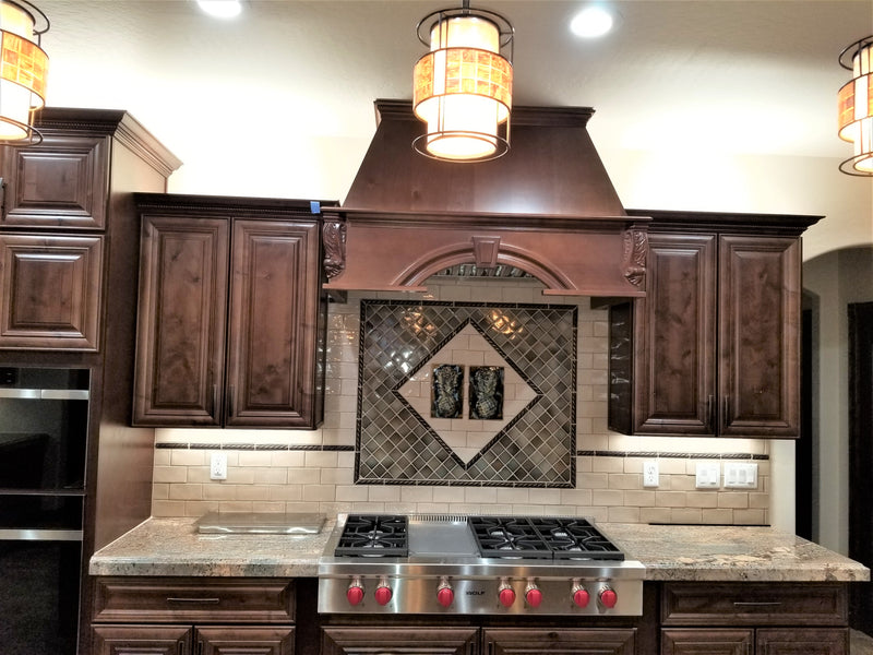 Kitchen Backsplash with Pineapple Design $120.00 TI18-B