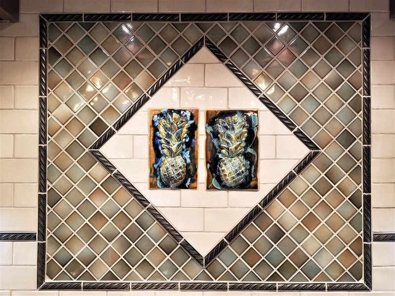 Pineapple Tile Installation
